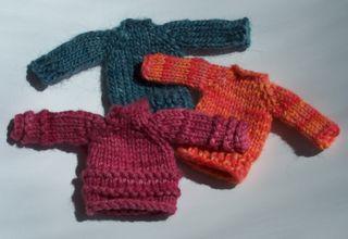 Mini sweaters