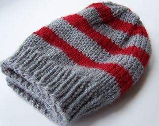 Striped hat 002