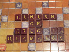 Finish or frog olympics