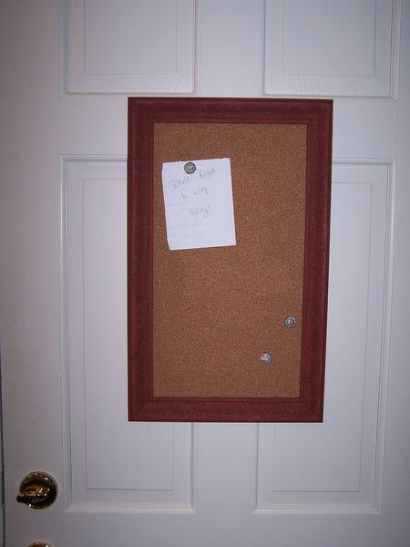 Cork board 006