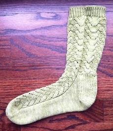 Coralicious Sock