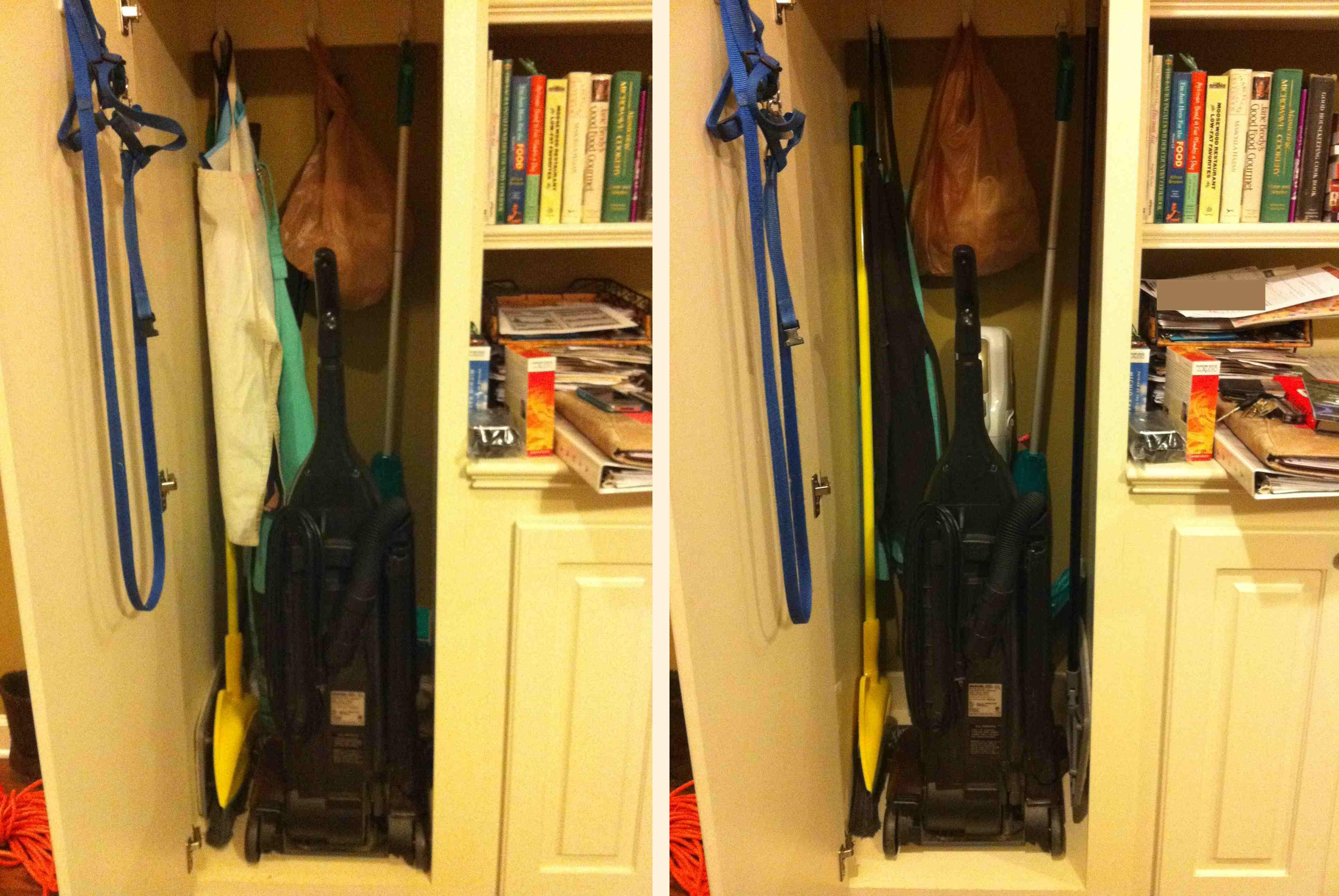 Day 44: Vacuum Closet