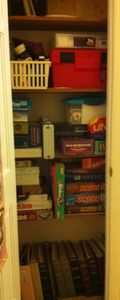 Finished game closet